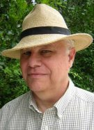 Whitley Strieber straw hat